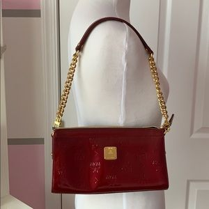 MCM metallic handbag